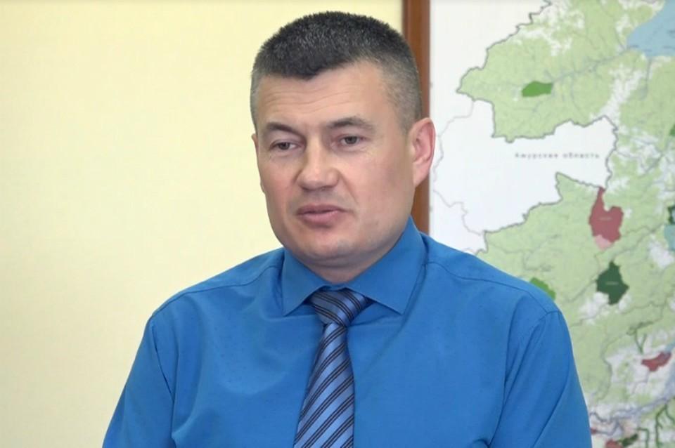 Андрей Стрельников. Фото: минприроды Хабаровского края