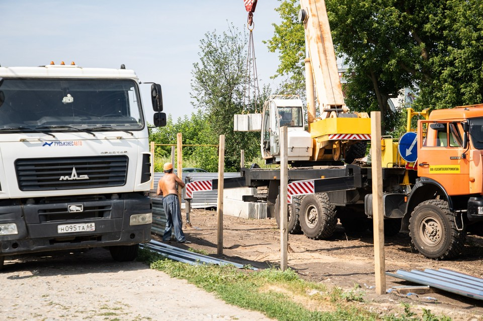 Строительство ДК в Донском