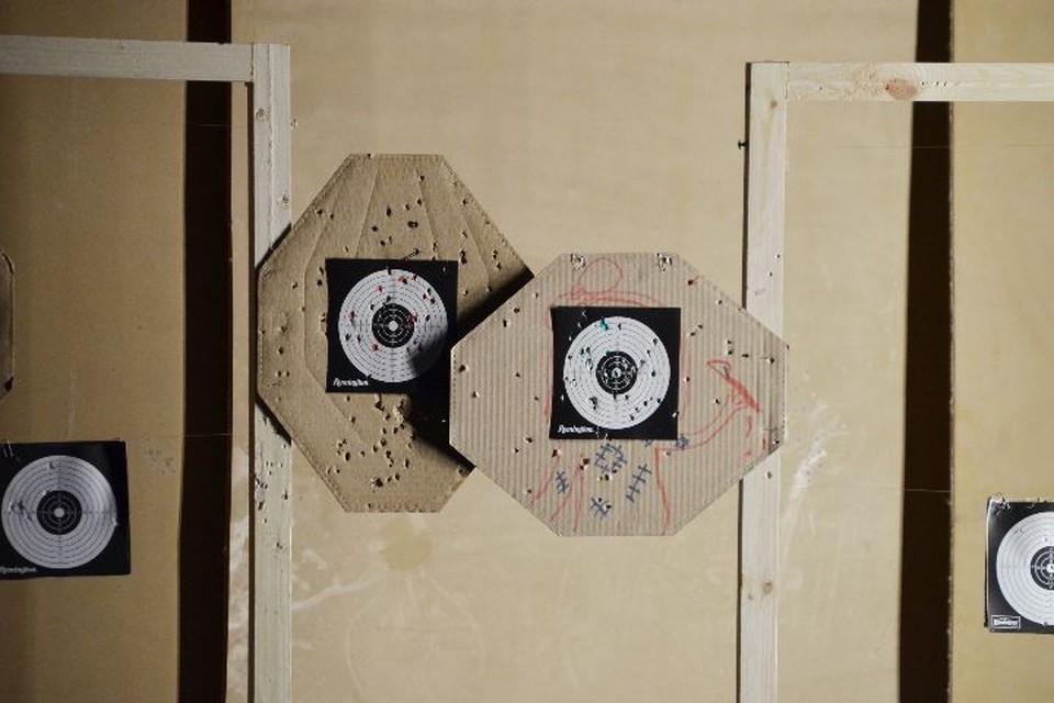"""В такие мишени стреляет на тренировках Анастасия. Фото: группа ВКонтакте """"Спорт и молодежь Ярославского региона"""""""