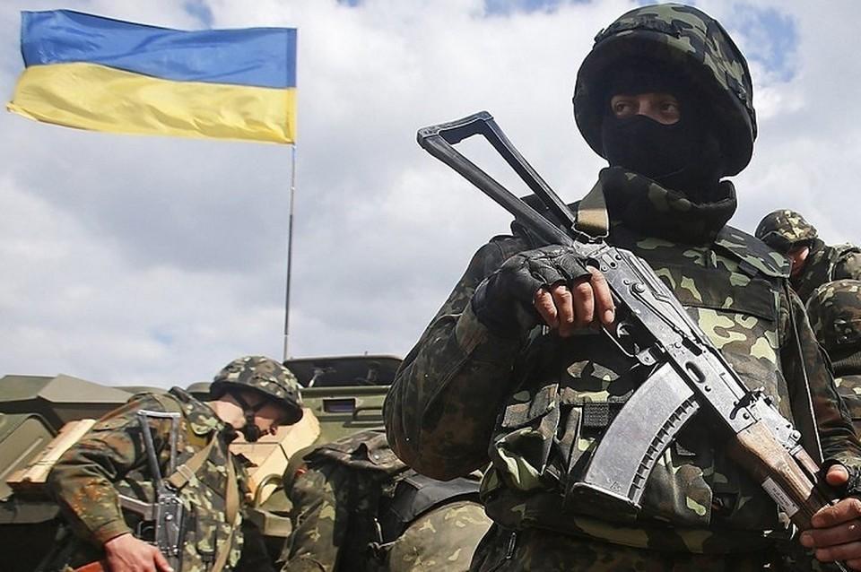Украинская армия продолжает стрелять по ДНР и ЛНР. Фото: штаб ООС