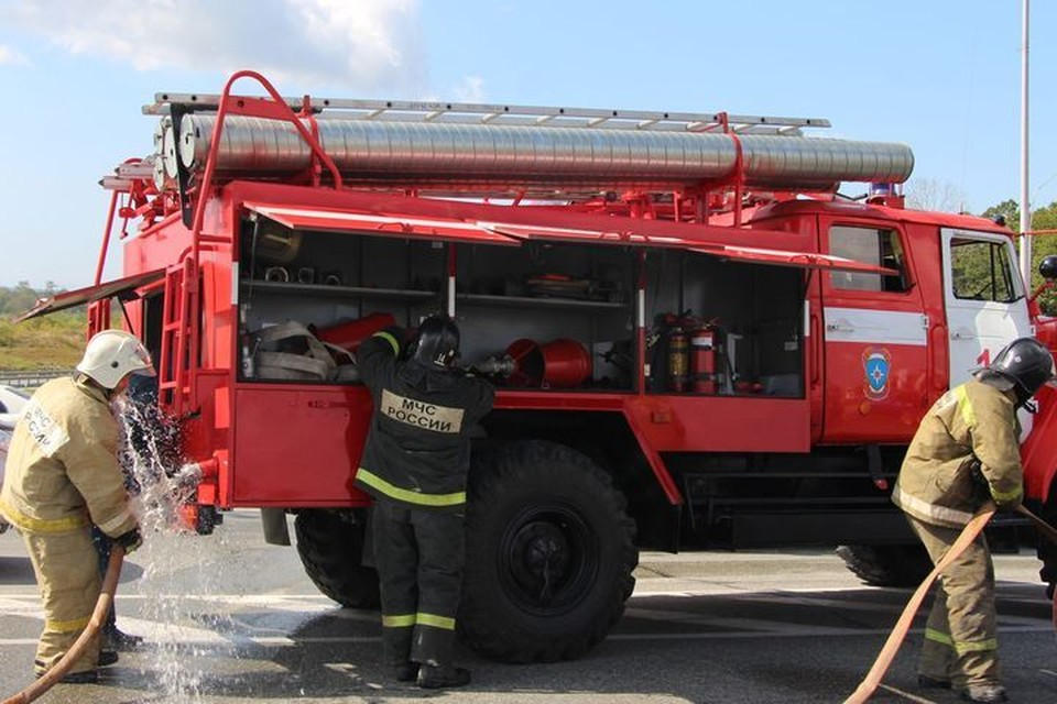 Специалисты быстро ликвидировали возгорание.