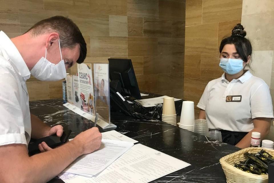 На сегодняшний день по всему полуострову не было зафиксировано ни одного очага заболевания коронавирусом в объектах размещения. Фото: Пресс-служба Минкурортов