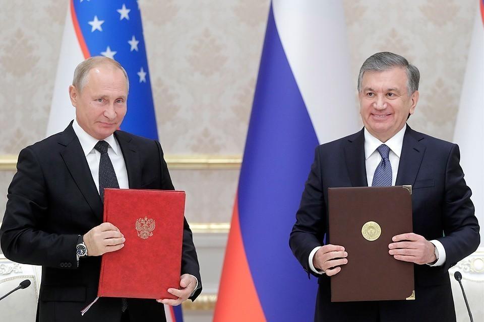 Путин обсудил ситуацию в Афганистане с президентом Узбекистана Фото: Михаил Метцель/ТАСС