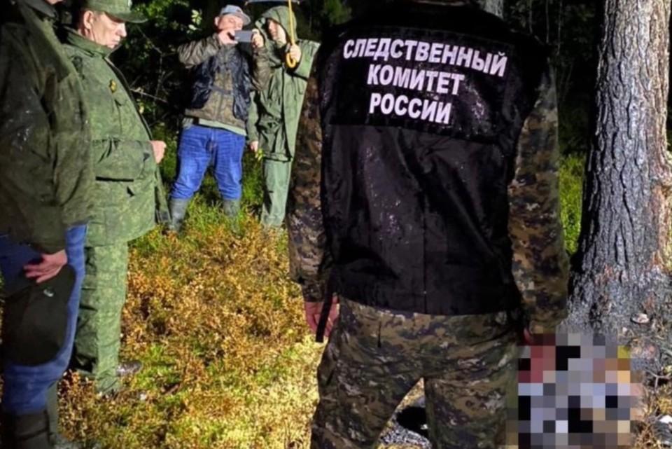 Следователи осмотрели место нахождения тел Фото: СУ СКР по Ленобласти