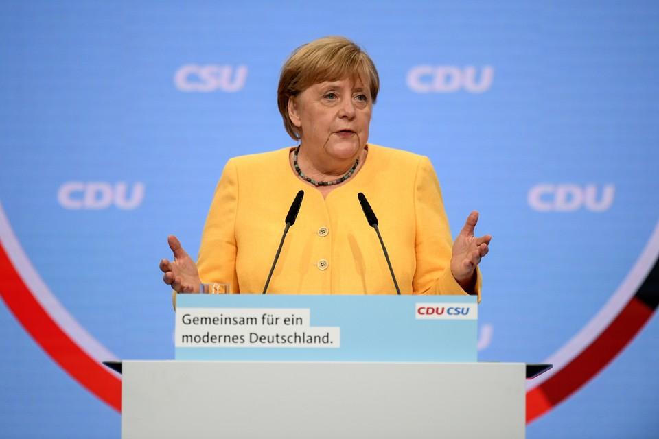 Ангела Меркель считает, что Армин Лашет может стать новым канцлером Германии