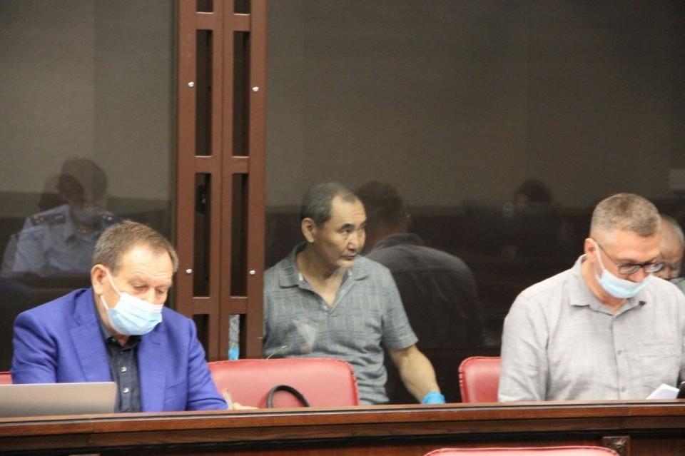 Всю прошлую неделю Музраев давал в суде показания. Фото: пресс-служба Южного окружного военного суда.