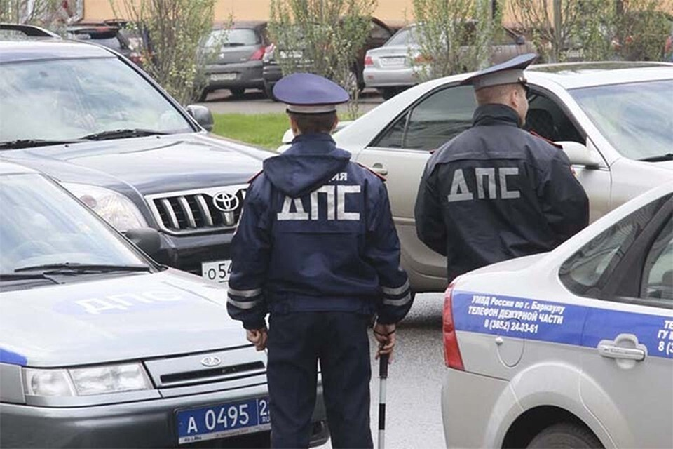 Полиция задержала водителя