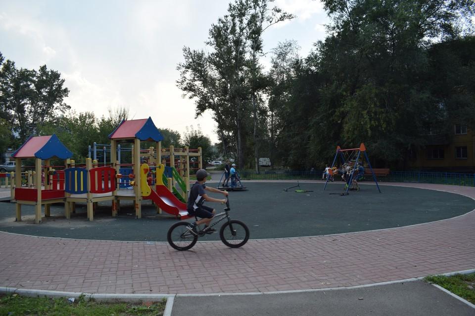 Сквер «Тепла и света». Фото: мэрия Красноярска