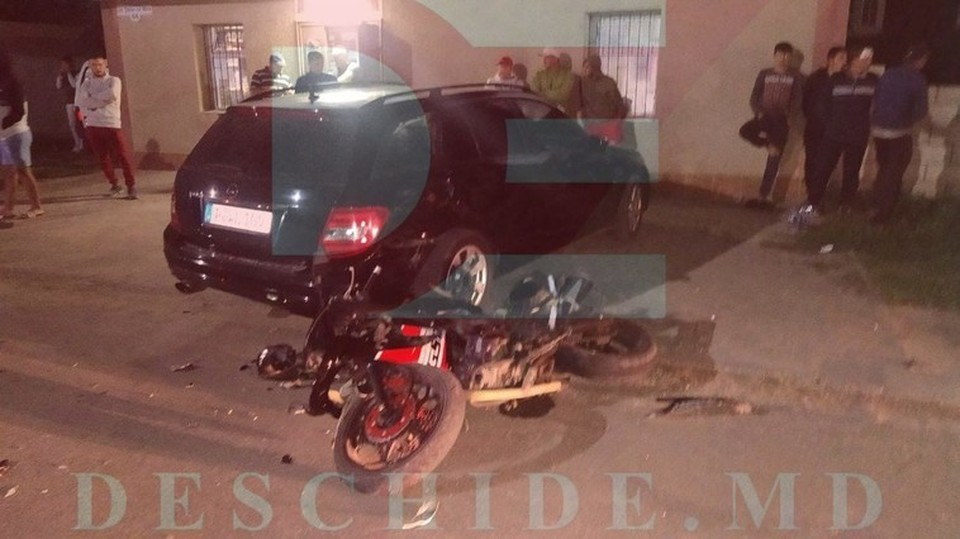 В аварии пострадали два человека (Фото: полиция).