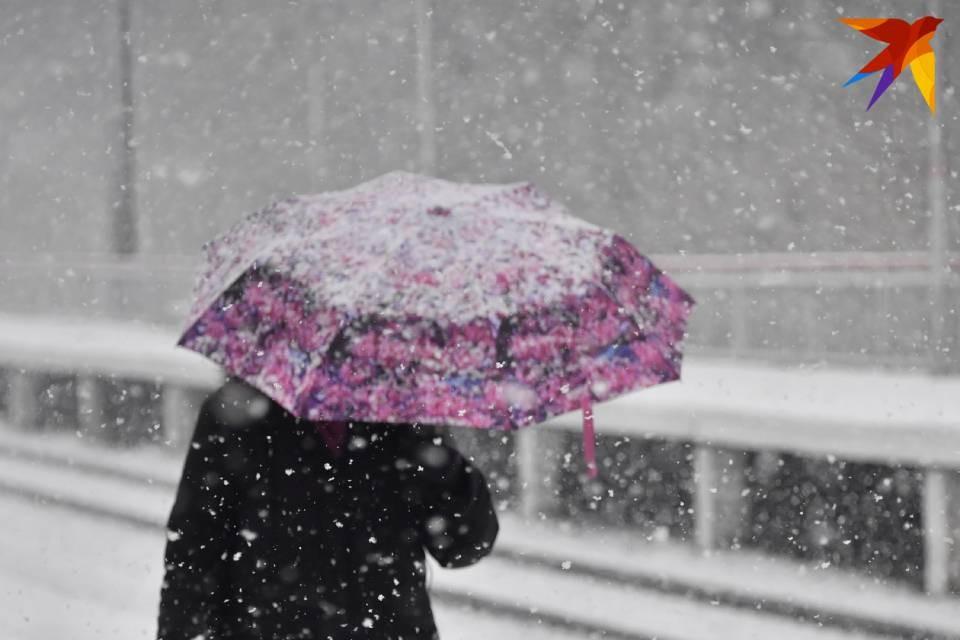 В Кировске на выходных обещают мокрый снег.