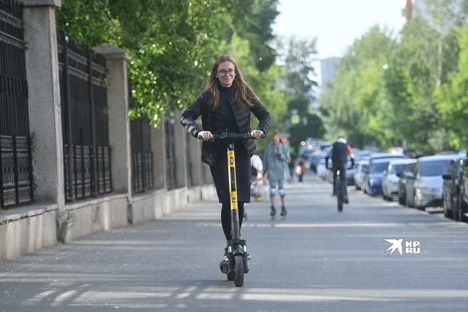 Скоро потоки пешеходов и любителей кататься на самокатах разделят