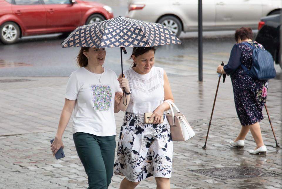 С друзьями любая погода не страшна!