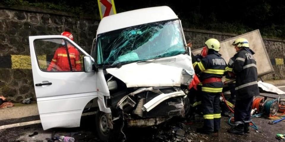 Страшное ДТП произошло в Румынии (Фото: libertatea.ro).