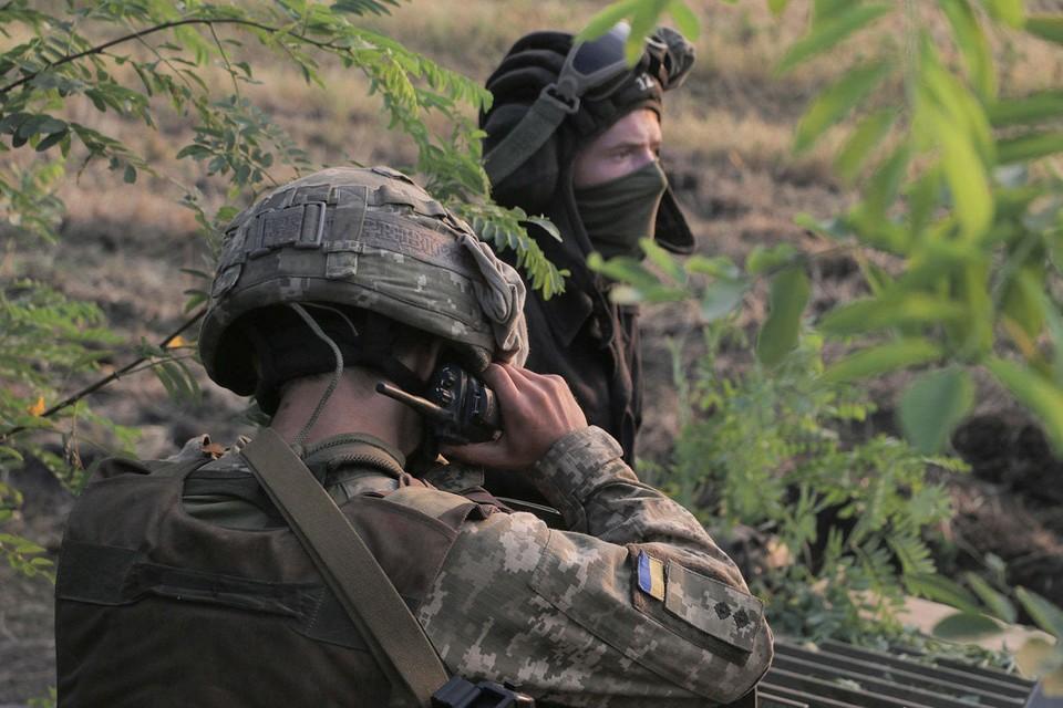 ВСУ не прекращают стрелять. Фото: штаб ООС
