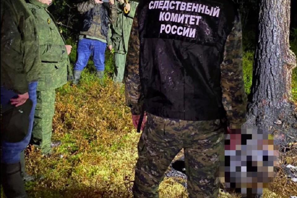 Самой страшной находкой стали сожженные тела женщины и ребенка. Фото: СК РФ.