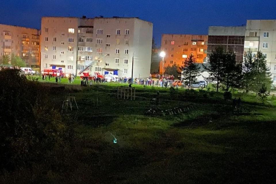 ЧП в поселке Константиновский произошло 2 сентября около восьми часов вечера. ФОТО: читатель КП