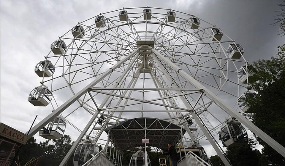Подсветку нового колеса обозрения будет видно за несколько километров.