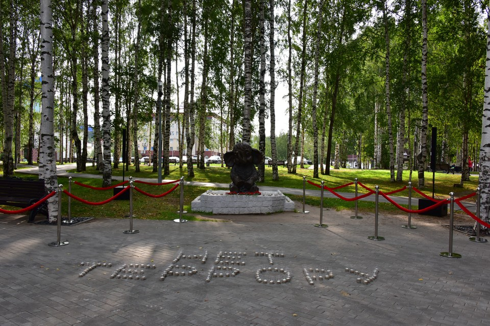 Сегодня в Ханты-Мансийске зажглись «Свечи памяти» Фото: Городской информационный центр