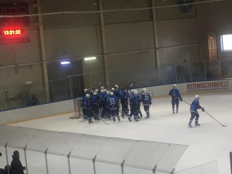 По сумме двух встреч белгородцы оказались сильнее - 10:9. Фото со страницы vk.com/club8075812.