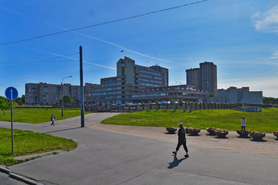 """В администрации Красносельского района Петербурга проходят обыски. Фото: """"Яндекс. Карты"""""""
