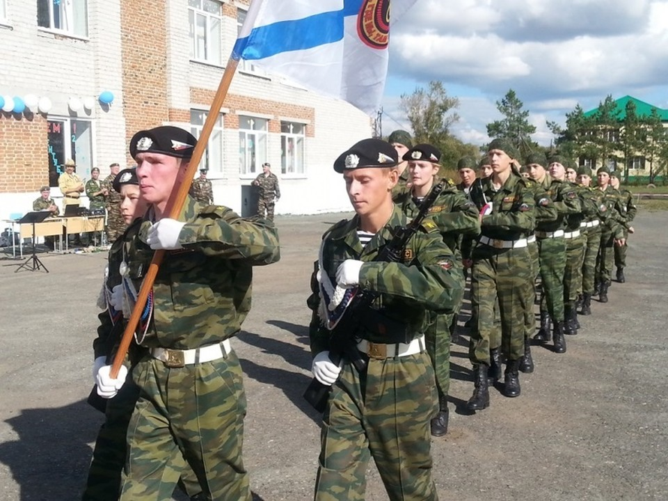 Воспитанники голышмановского кадетского класса «Пульс» успешно служат на благо Родины