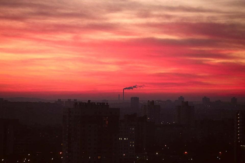 Если 10 сентября на закате небо будет вот таким, то скоро наступит ненастье.