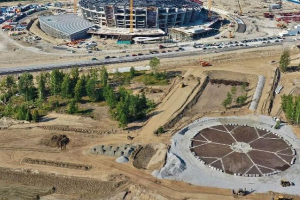 Снежинка станет центром нового парка. Фото: предоставлено Анной Терешковой