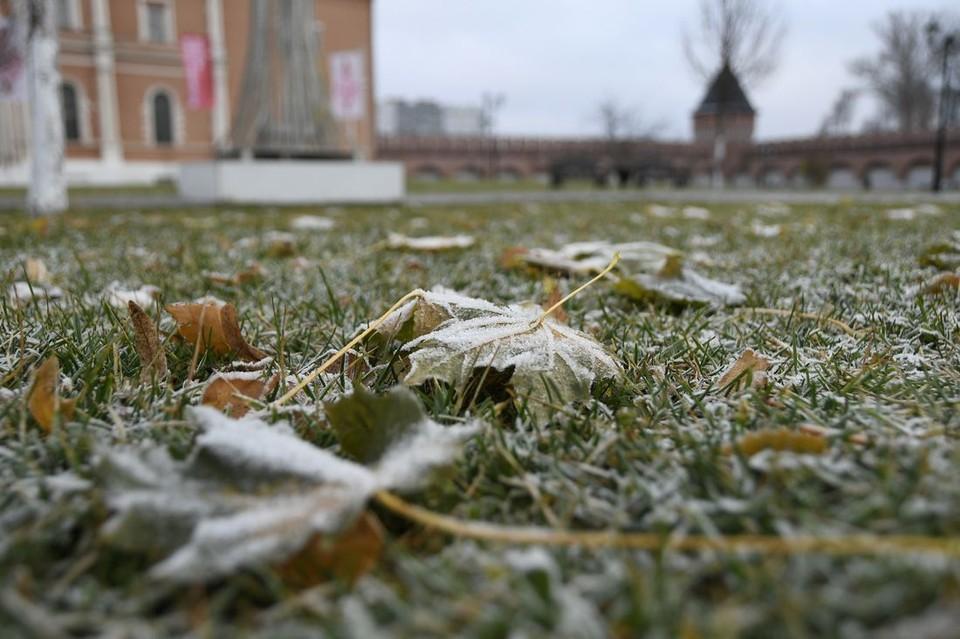 Заморозки могут сохраняться и утром понедельника
