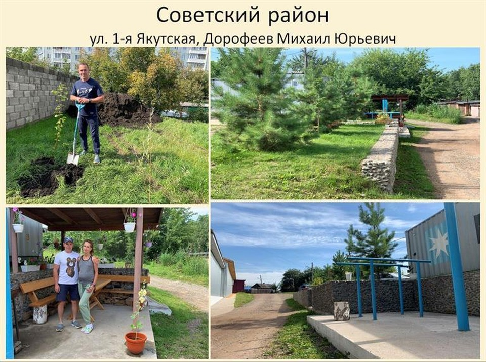 Советский район стал самым благоустроенным в Красноярске