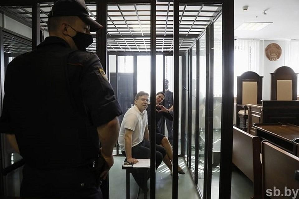 Максиму Знаку и Марии Колесниковой 6 сентября огласили приговор. Фото: sb.by
