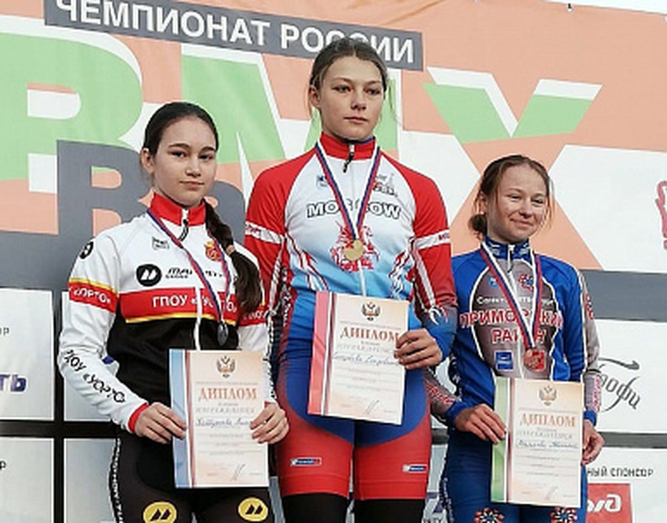 Тулячка стала серебряным призером первенства России по велоспорту на треке