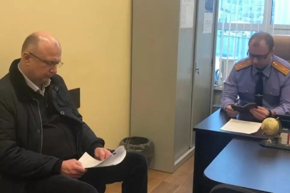 Андрея Плитко задержали за получение взятки еще в апреле 2020 года. Фото: скриншот с видео СУ СКР по Кировской области