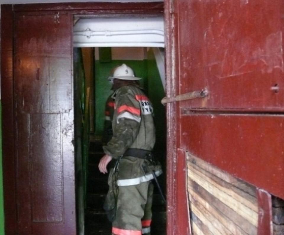 Огонь в однокомнатной квартире потушили за считанные минуты.