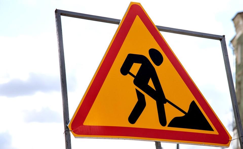 К осени дорожные строители начали ремонтировать полотно в районе Южной площади и транспортного кольца