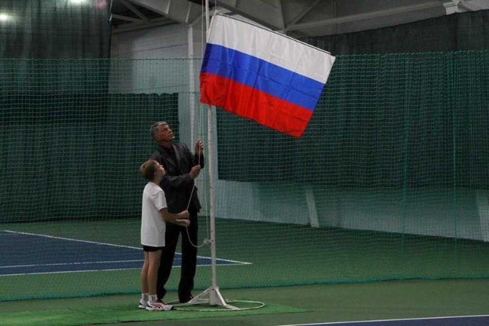В Рыбинске открыли спортивный теннисный центр
