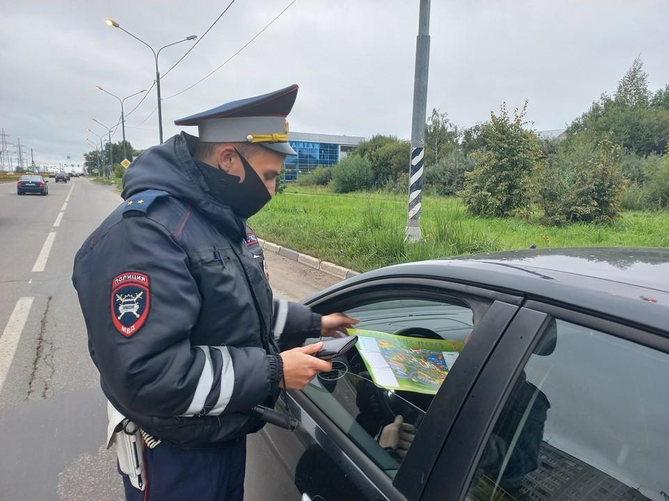 Госавтоинспекторы проверили, как водители перевозят детей Фото: УГИБДД России по Тверской области