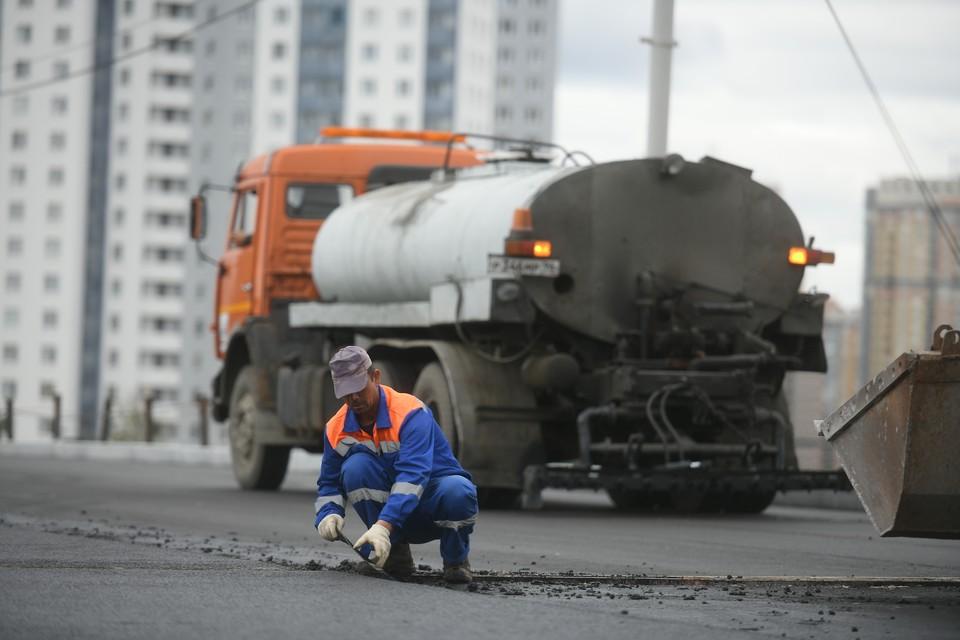 в Новокузнецке пройдет ремонт трамвайных путей.