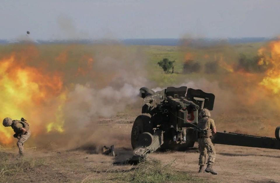 Огонь велся со стороны населенного пункта Опытное. Фото: штаб «ООС»