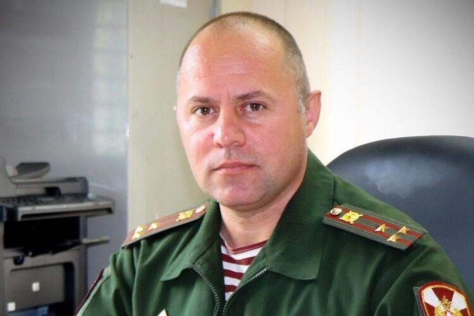 Начальник штаба сахалинской Росгвардии полковник Архангельский