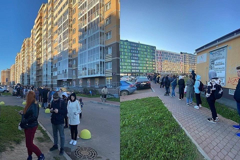 Жители поселка Янино дождутся дополнительных автобусов, чтобы ездить по утрам на работу в Петербург.