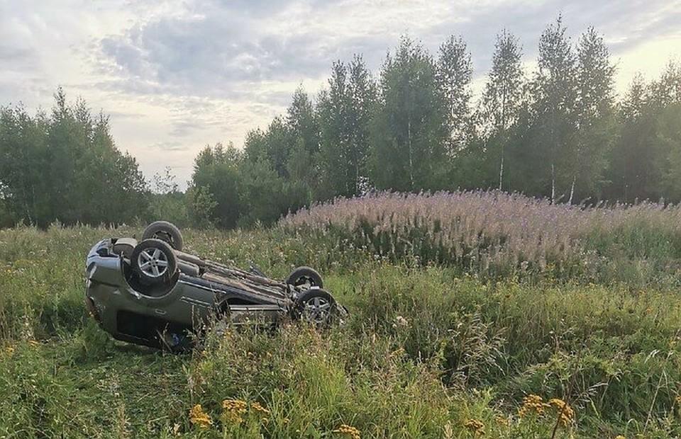 В Смоленской области следствие ищет свидетелей смертельного ДТП с Nissan X-Trail. Фото: паблик «Ярцево» ВКонтакте.