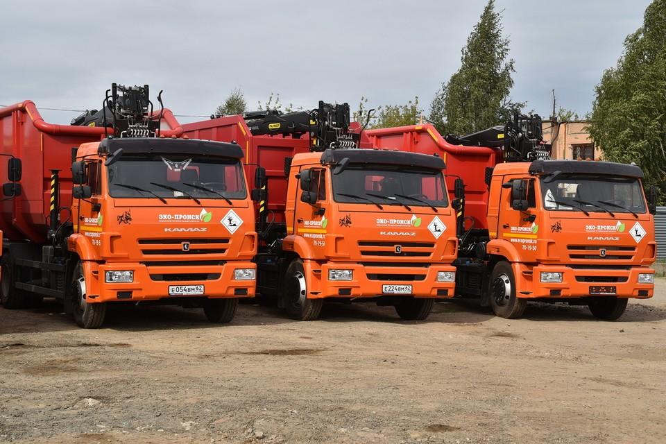 «Мусорный» оператор закупил машины для вывоза крупных отходов с улиц Рязани.