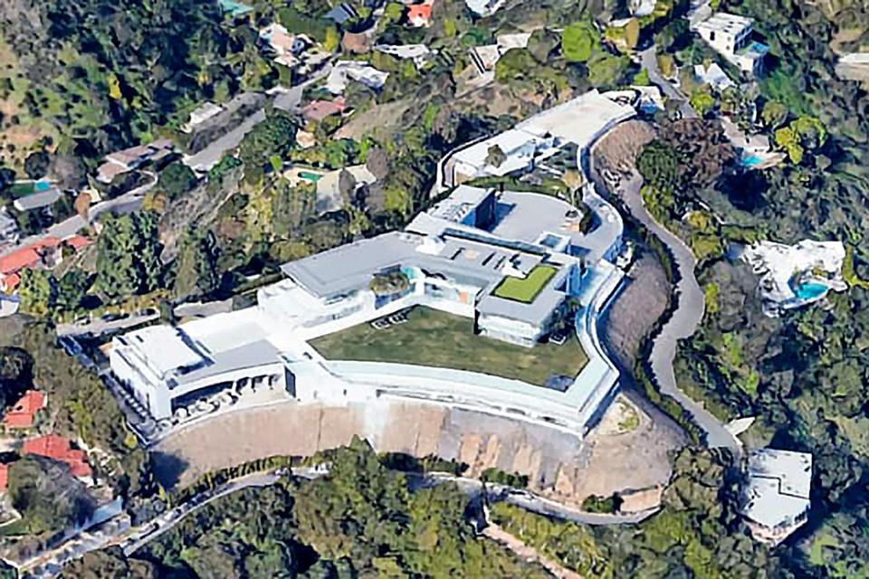 В Калифорнии продают особняк на 500 миллионов долларов. Фото: Google Earth
