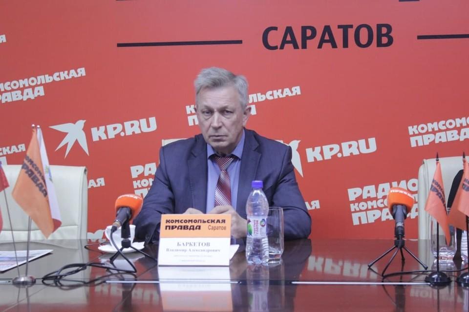 Заместитель министра культуры Баркетов Владимир Александрович
