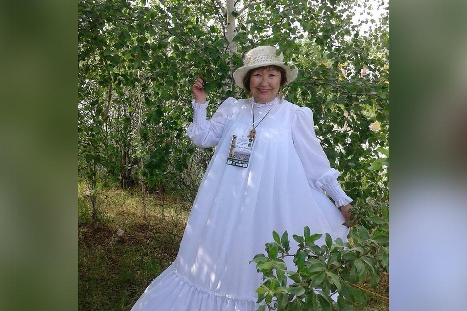 Получает стипендию 25 тысяч рублей: в Северо-Восточном Федеральном университете учится 74-летняя студентка. Фото: страница Ансемы Семеновой в соцсетях