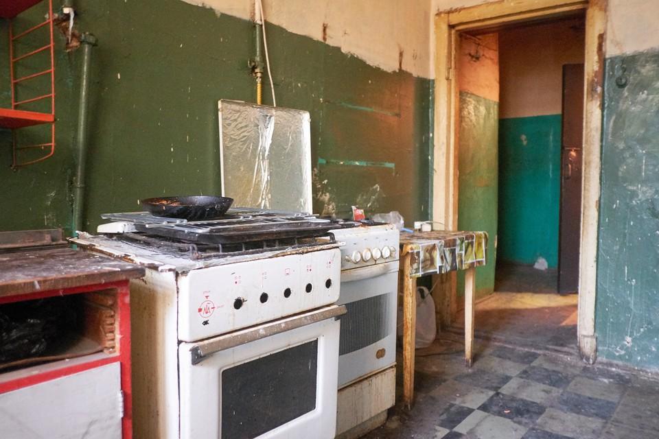 Петербурженка загорелась от газовой плиты