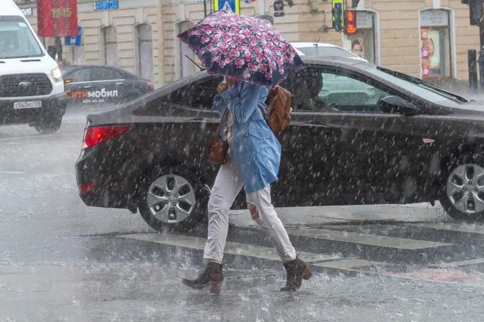 МЧС предупреждает о ливнях ночью 10 сентября на востоке Ленобласти.