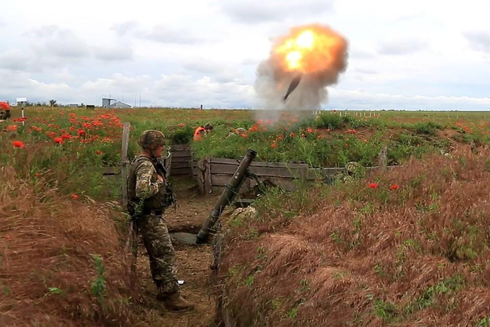 Обстрел Донецка не прошел для украинских минометчиков безнаказанно. Фото: Пресс-центр штаба «ООС»