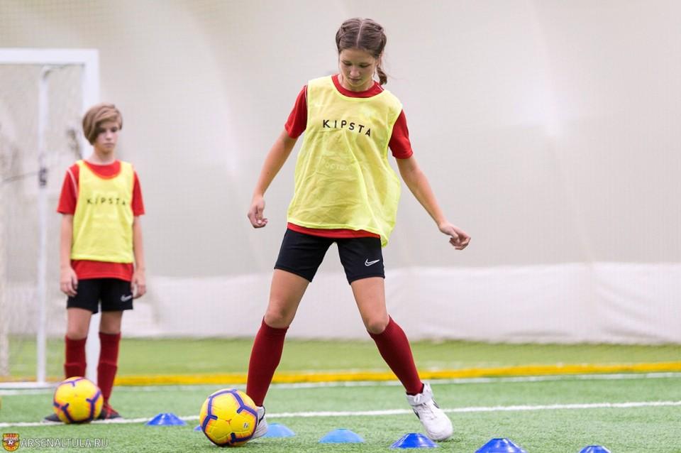 При тульском «Арсенале» сформирована женская молодежная команда