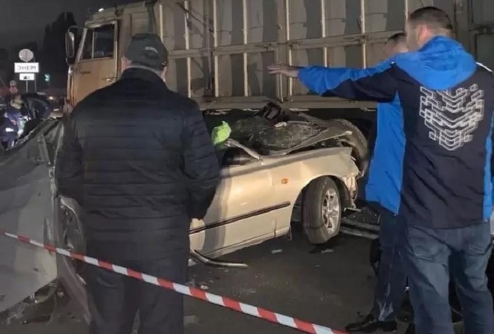 В этой аварии погибли трое, двое из которых - дети. Фото: ГУ МВД по Адыгее